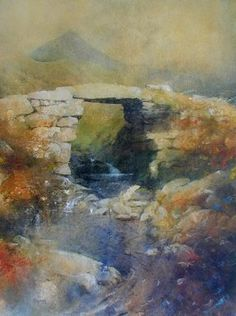 Stone Bridge beneath Cnicht by Rob Piercy