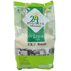 Organic Rice Semolina (Idly Rava/rice Rava) - 2 Lbs 24 Le...