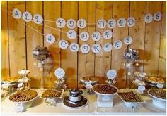 Cookie buffet table