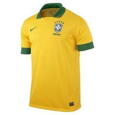 2012/13 Brasil CBF Replica Men's Soccer Jersey