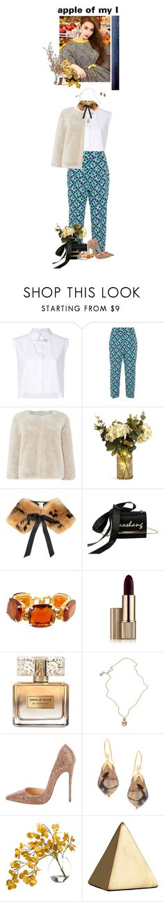 """""""#91"""" by manillfreakyouout ❤ liked on Polyvore featuring Helmut Lang, Prada, Issa, Oscar de la Renta, Estée Lauder, Givenchy, Jessica de Lotz Jewellery, Christian Louboutin, Taylor and Wyld Home"""
