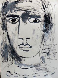 stephphs:  stephane salvi interrogation 2016 Illustrations, Sculpture, Art, Graphic Design, Paintings, Craft Art, Illustration, Sculpting, Kunst