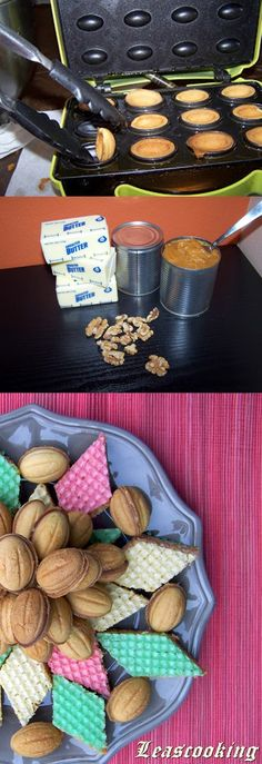 "Lea's Cooking: Walnut Cookies Recipe ""Oreshki"" { Орешки со Cгущенкой}"