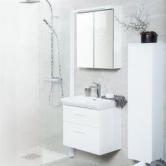 Tvättställskåp Svedbergs Forma Vit - Tvättställsskåp Vanity, Bathroom Ideas, Bathrooms, Dressing Tables, Powder Room, Bathroom, Vanity Set, Full Bath, Single Vanities