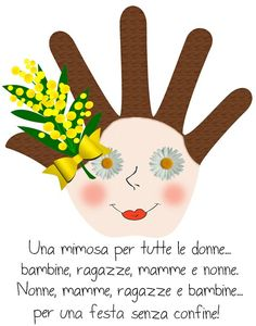 8 marzo festa della donna Women's Day 8 March, 8th Of March, Crafts To Do, Crafts For Kids, Diy Crafts, Preschool Games, Activities For Kids, March Crafts, Baby Park