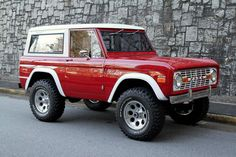 This 1971 Ford Bronco has been fully restored and is a good representation of a consumers end goal as they purchase what is necessary to rebuild this automotive icon