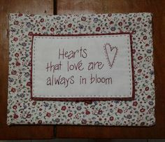 Hugs 'n Kisses Hugs N Kisses, Red Rooster, English Paper Piecing, Applique, Hearts, Bloom, Quilts, Embroidery, Fabric