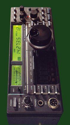 ICOM IC-735 Short Waves, Ham Radio, Product Design, Drawings