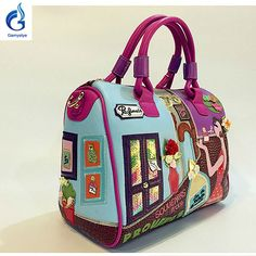 Candybraccialini StyleHandbag Embroidered cartoon fashion Handbag Check it out! #shop #beauty #Woman's fashion #Products #homemade