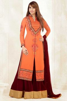Anarkali Suit: Buy Latest Designer Anarkali Suits Online for Women Bollywood Stars, Bollywood Bridal, Lehenga Choli Online, Bridal Lehenga Choli, Designer Anarkali, Best Maxi Dresses, Fashion Dresses, Beauty Fotos, Bollywood Outfits