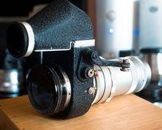 Ernst Leitz GmbH Wetzlar Hektor f=13.5cm 1:4.5 by Ladenla, via Flickr