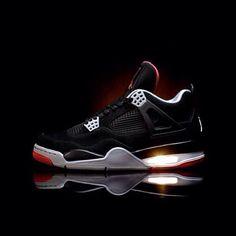 Air Jordan 4's Bred 4's #Jordans #Bred4s