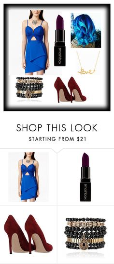 """""""Random"""" by parisparis25 ❤ liked on Polyvore featuring Material Girl, Smashbox, Gianvito Rossi, Samantha Wills and Minnie Grace"""