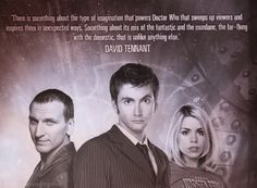Almost done with Series 6 and I still miss David Tennant. Sorry, Matt Smith.