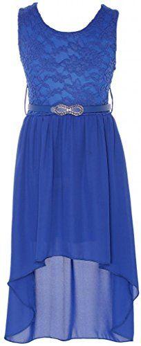Wonder Girl Big Girls' Solid Lace Chiffon High Low Dress Set 14 Royal Blue Wonder Girl http://www.amazon.com/dp/B00THS5TQG/ref=cm_sw_r_pi_dp_ZQRjvb0Y90FHV