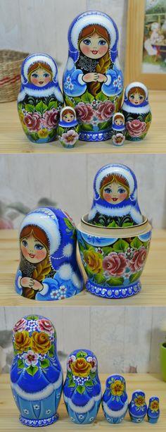 winter matryoshka