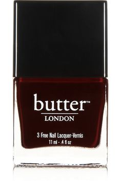 This Butter London polish (in La Moss) is so so good for the holiday season!