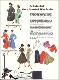 Tuppence Ha'penny: {Colour Theory Week} A Co-ordinated Capsule Wardrobe