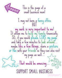 For all us small business owners.