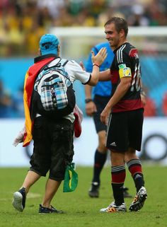 Philipp Lahm and fan