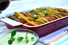 Yummy Ratatouille with Mint Raitha inspired by The Hundred-Foot Journey Movie