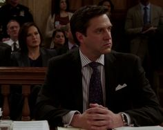 """ADA Rafael Barba's outfits """"Every girl's crazy bout a sharp dressed man."""""""