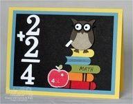 Stampin Up owl punch teacher card School Scrapbook, Scrapbook Cards, Scrapbooking, Scrapbook Albums, Scrapbook Layouts, Pop Up Karten, Owl Punch Cards, Owl Card, Teacher Cards