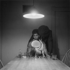 Carrie Mae Weems Photography - The Kitchen Table Series, 1990