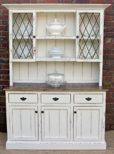 84 best buffet hutch images painted furniture cupboard shelves rh pinterest com