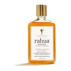 Shampooing Rahua, 100% naturel à base d'huile de Rahua. Douceur, brillance, renforcement du cuir chevelu... Celui là, il est indispensable! Idéal aussi pour les cheveux colorés.