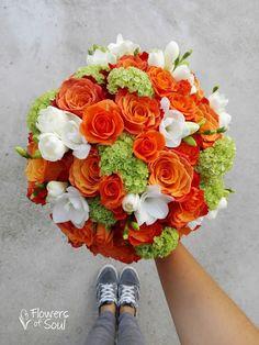 Flowers of Soul: Buchete de mireasa, nasa si cununie civila Nasa, Floral Wreath, Coral, Wreaths, Orange, Wedding, Valentines Day Weddings, Floral Crown, Door Wreaths