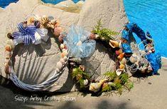 Feature Friday- Summer Seashell Wreaths