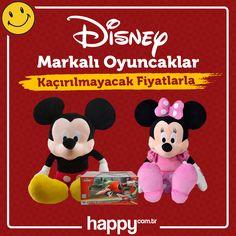 Disney pelüş oyuncaklar en uygun fiyatlarla happy.com.tr'de! Ürünleri incelemek için: https://www.happy.com.tr/disney