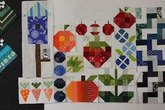 Oh Scrap! : More RSC Blocks (Quilting is more fun than Housework. Barn Quilts, Quilt Blocks, More Fun, Quilt Patterns, Projects To Try, Bee, Scrap, Kids Rugs, Rainbow