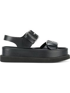 Shop Stella McCartney Submerge flatform sandals.