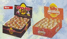 From '91 Rolo egg & Toffy Mallow egg from Rowntree's