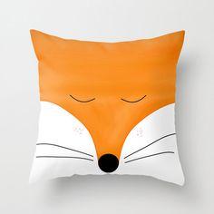 Fox taie d'oreiller et / ou insérer 16x16 18x18 20x20 22x22 animale, coussin amateurs de renard le renard roux, Orange Nursery par Narais sur Etsy https://www.etsy.com/fr/listing/219995613/fox-taie-doreiller-et-ou-inserer-16x16