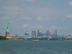 Lady Liberty and Brooklyn from Jersey City NJ June 2014