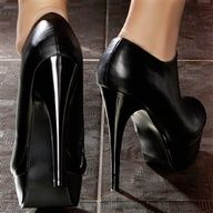 Some very high heels - definitely want to change into some Footzyfolds after wearing these! www.footzyfolds.com