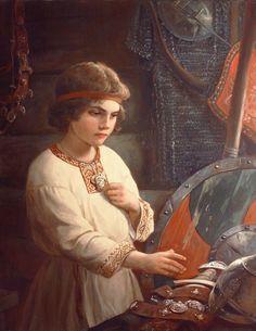 Память – картина художника Андрея Шишкина