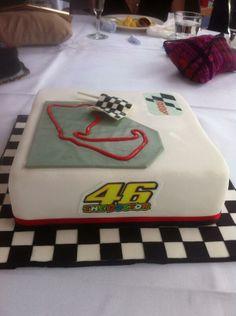 Birthday cake - circuit - #46 - #motogp