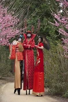 The Huntington is always a favorite, esp when stiltwalkers move through its gardens for Chinese New Year.