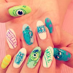 17 Of Your Favourite Disney Characters As Nail Art   The Nail Room