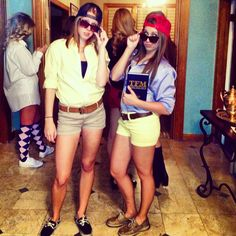 """""""Does this outfit make us look frat? Marie can this be our couples Halloween costume? Frat Boys Halloween Costume, Boy Costumes, Halloween 2017, Group Costumes, Halloween Dress, Costume Ideas, Homecoming Week, College Fun, College Crafts"""