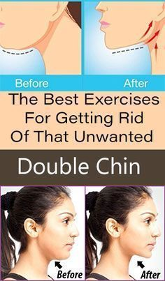 Best Exercises For Getting Rid Of Unwanted Double Chin
