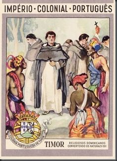 An poster sized print, approx (other products available) - Portuguese Colonial History Series - The convertion of Native Timor Islanders by Portuguese Dominican Friars in Date: 1511 - Image supplied by Mary Evans Prints Online - Poster printed in the USA Fine Art Prints, Canvas Prints, Framed Prints, Portuguese Empire, History Of Portugal, Nostalgia, Vintage Advertisements, Poster Size Prints, Vintage Posters