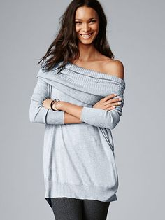 A Kiss of Cashmere The Multi-way Sweater - love this sweater - versatile soft and great fall fashion - visit site to see in all the colors that are available - --