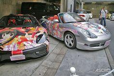 """痛車 / Japanese """"ITA-SHA"""" Anime/Manga painted Car"""