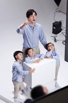 Daehan Minguk Manse x Apps Superman Cast, Superman Kids, Cute Kids, Cute Babies, Song Il Gook, High Court Judge, I Miss You Guys, Man Se, Song Triplets
