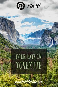 Yosemite National Park is one of the iconic parts of the American landscape. Here you will find our tips for spending four (or more) days in Yosemite.